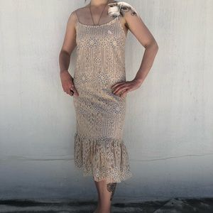 Anthropology size s dress